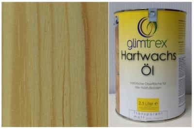 Масло с твердым воском Glimtrex прозрачное матовое 1 л