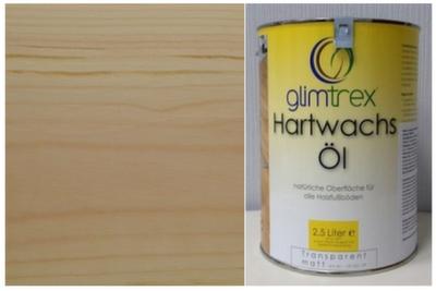 Масло с твердым воском Glimtrex прозрачное шелковисто-матовое 1 л