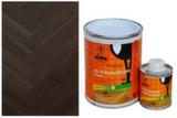 Защитное масло для древесины Lobasol HS 2K ImpactOil Color 0.75 л черное